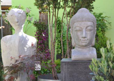 Beton Objekt Mensch Buddha