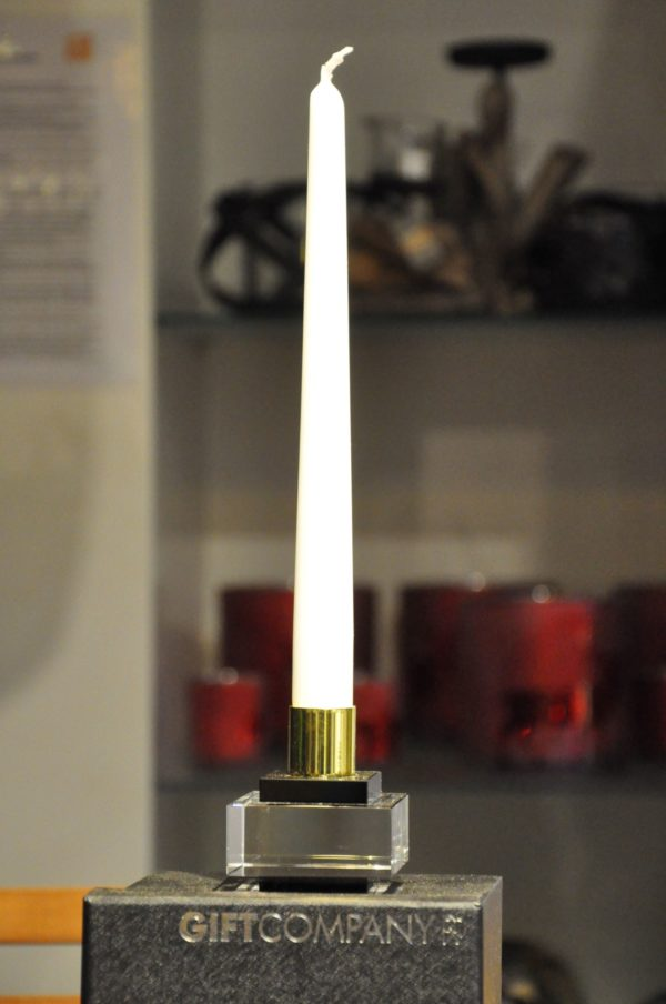 Kerzenleuchter Kristallglas 6x6cm ohneKerze 44,90€