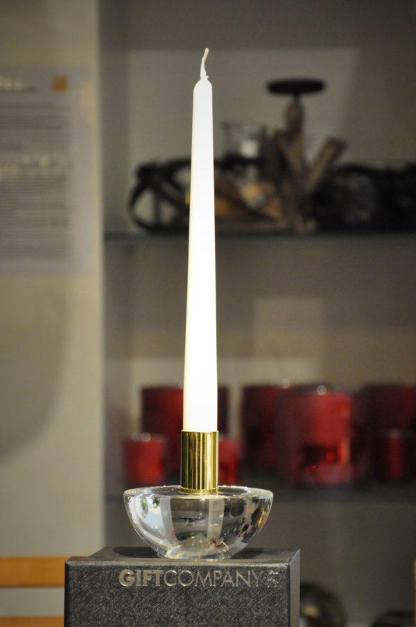 Kerzenleuchter Kristallglas D10cm ohneKerze 59,50€