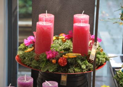 Adventskranz Bunt Fruchtig
