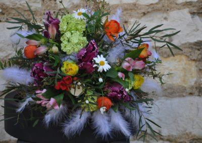 Federn Im Blumenstrauss