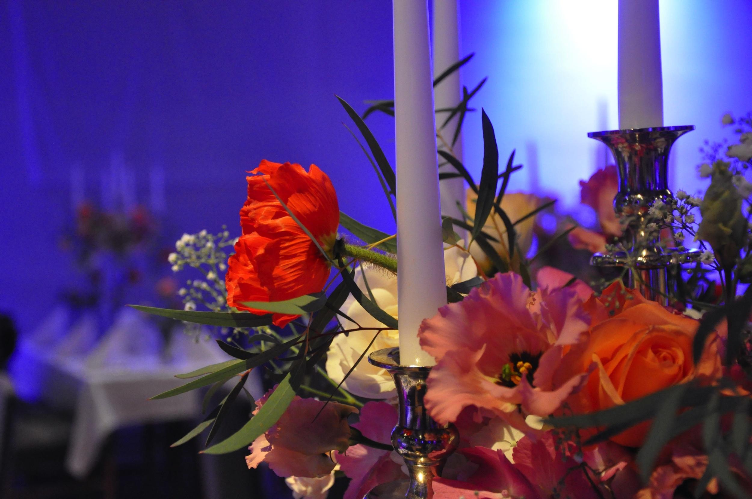 Tischdeko Mit Kerzen Stimmungsvoll